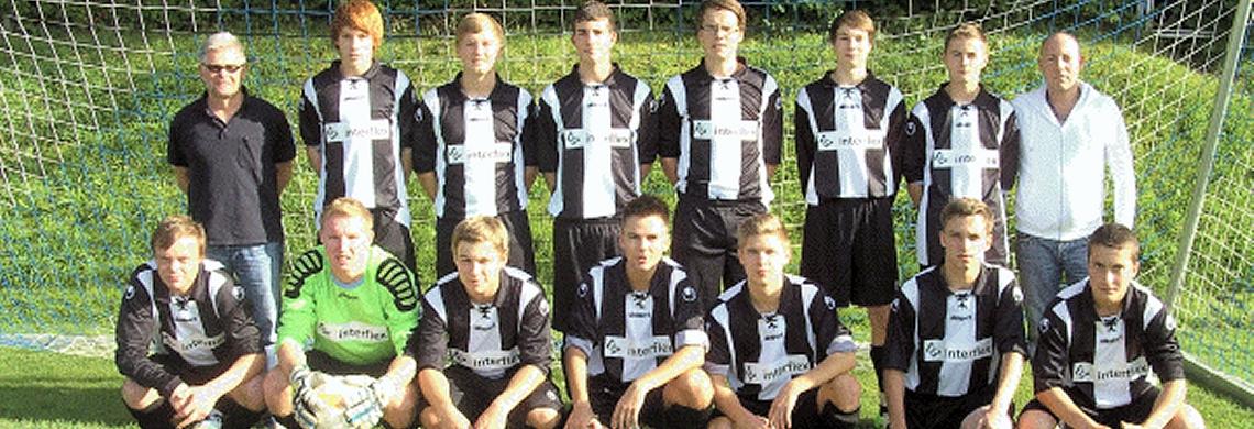 Die A-Jugend der Saison 2013/2014.