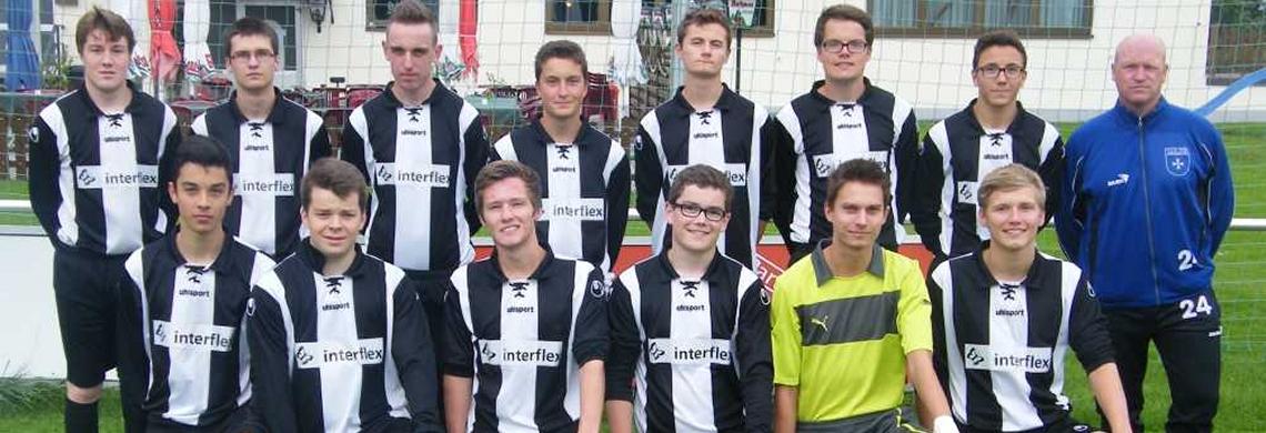Die A-Jugend der Saison 2014/2015.