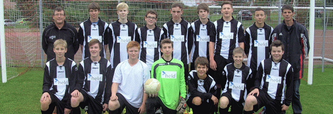 Die B-Jugend der Saison 2013/2014.