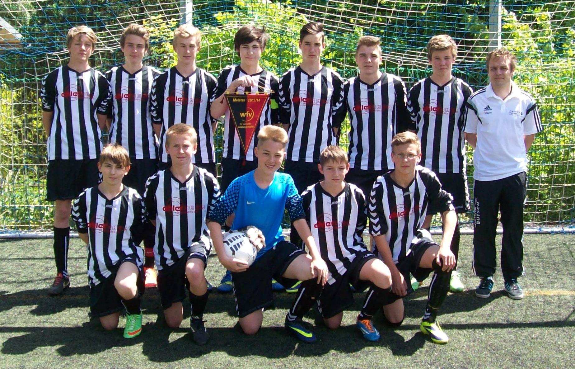 C-Jugend Meistermannschaft 2013/2014