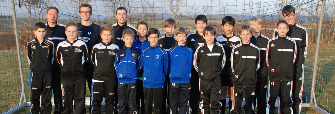 Die D-Jugend (SGM Baar II) der Saison 2014/2015 - erstmals in der SGM Baar.